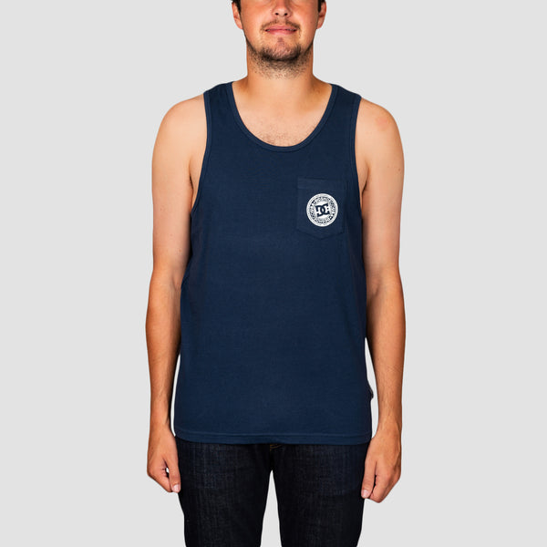 DC Pocket Tank Vest Black Iris
