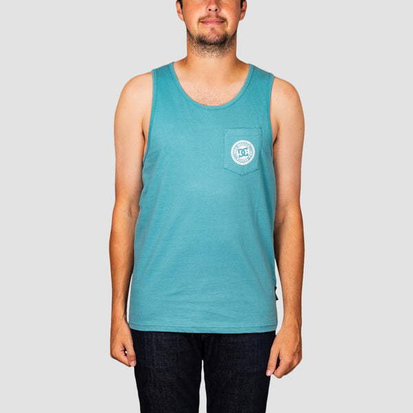 DC Pocket Tank Vest Teal