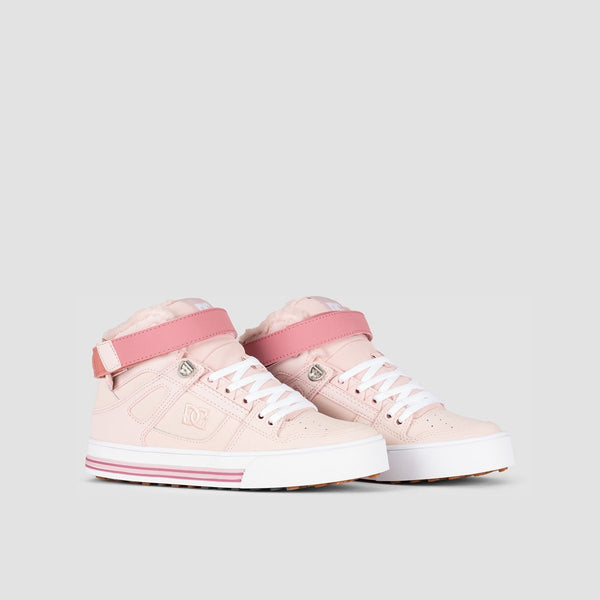 DC Pure Hi WNT Peachie Peach - Womens - Footwear