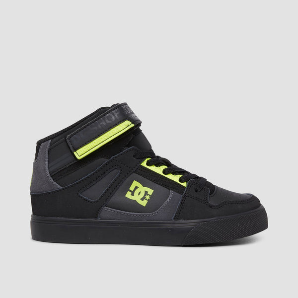DC Pure HT EV Black/Black/Yellow - Kids