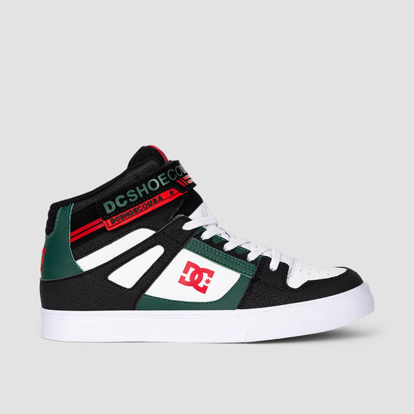 DC Pure HT EV Black/Green - Kids