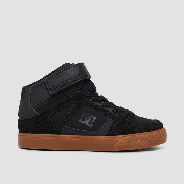DC Pure HT EV Black/Gum - Kids
