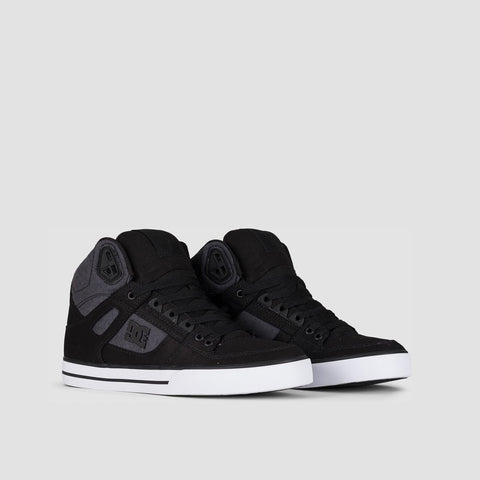 DC Pure HT WC TXSE Black Dark Used - Footwear