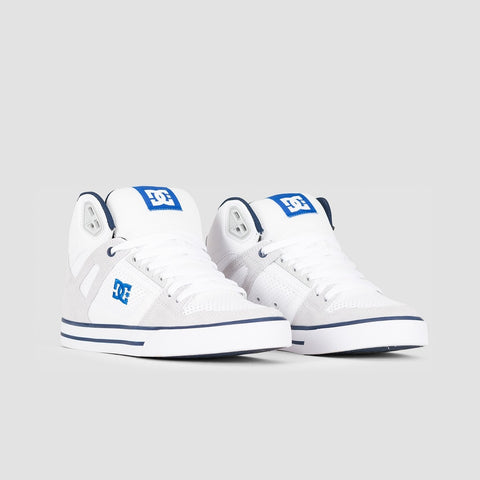 DC Pure HT WC White/Blue - Footwear