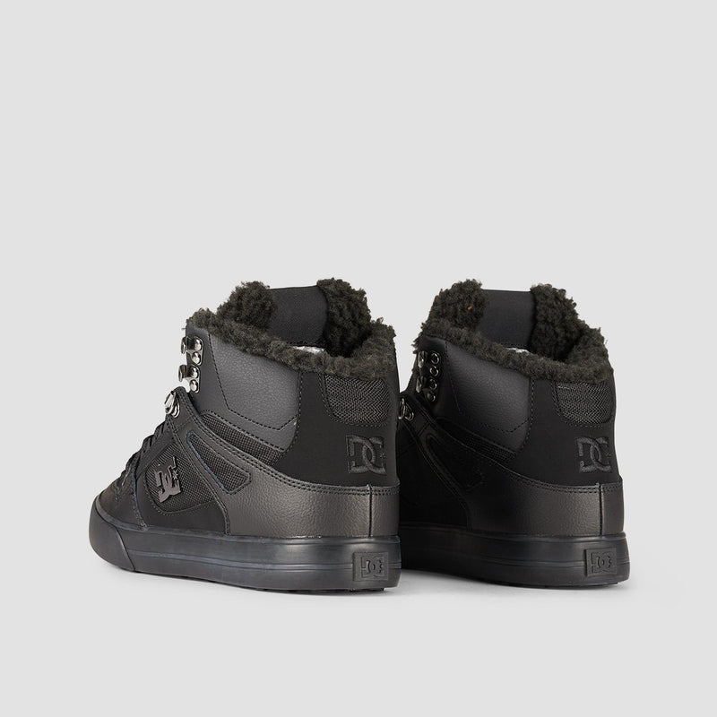 DC Pure HT WC WNT Black/Black/Black - Footwear