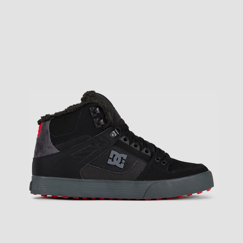 DC Pure HT WC WNT Black/Grey/Red - Footwear