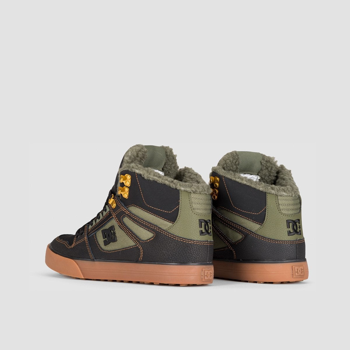 DC Pure HT WC WNT Black/Olive - Footwear