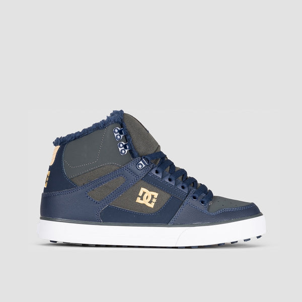 DC Pure HT WC WNT Navy/Grey - Footwear