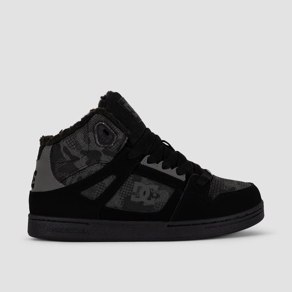 DC Pure HT WNT Black Camouflage - Kids