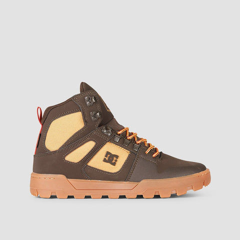 DC Pure HT WR Boot Chocolate Brown