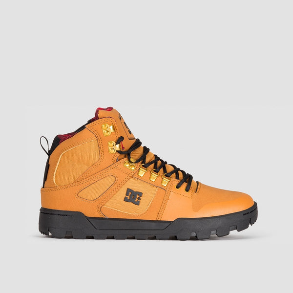 DC Pure HT WR Boot Wheat/Black - Footwear
