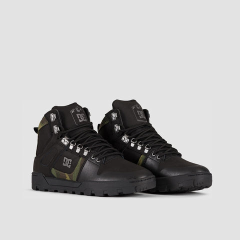DC Pure HT WR Boots Black/Camo - Footwear