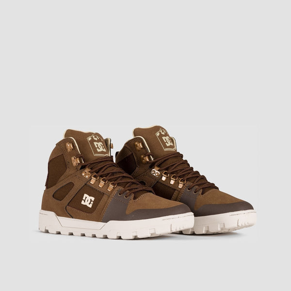 DC Pure HT WR Boots Brown - Footwear