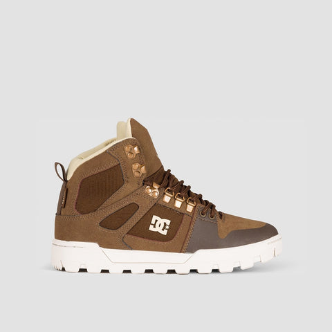 DC Pure HT WR Boots Brown - Kids