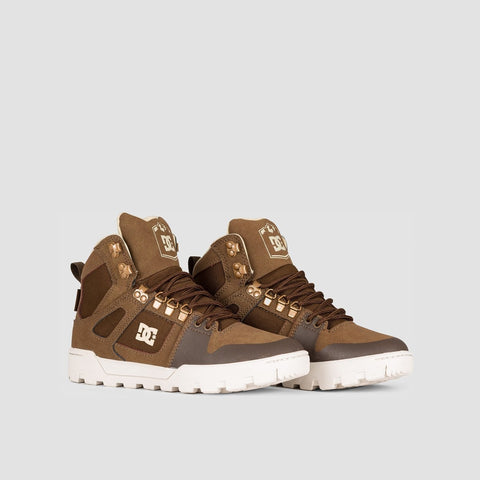 DC Pure HT WR Boots Brown - Kids - Footwear