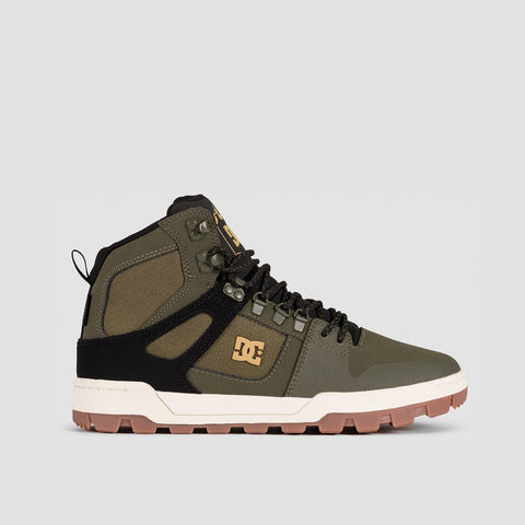 DC Pure HT WR Boots Olive/Black
