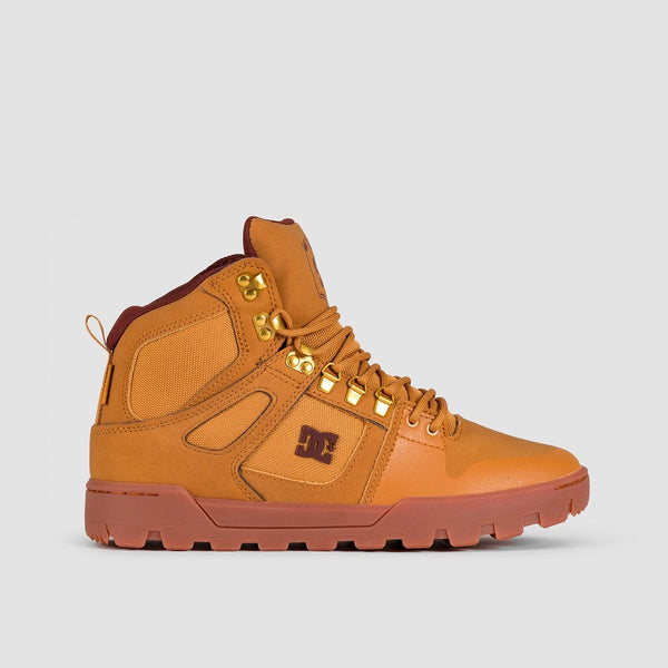 DC Pure HT WR Boots Tan - Footwear