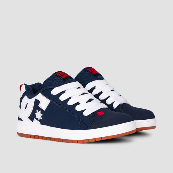 DC Court Graffik Navy/Gum - Kids