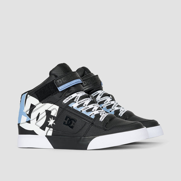 DC Pure Rebound HT SE E Black/White - Kids
