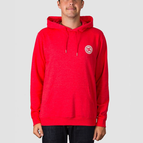 DC Rebel Pullover Hood Racing Red