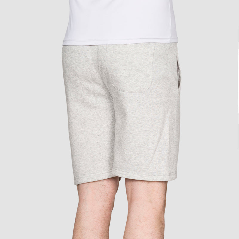 DC Rebel Sweat Shorts Light Grey Heather