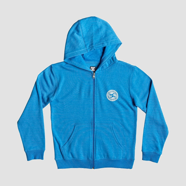 DC Rebel Zip Hood Brilliant Blue - Kids - Clothing