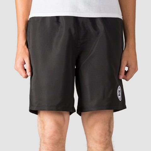 "DC Right Way 18"" Elasticated Shorts Black"