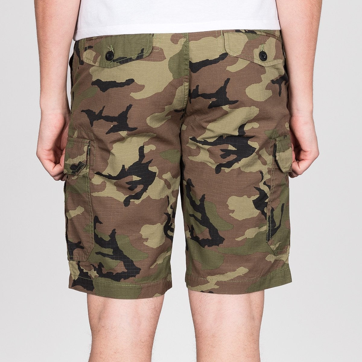 DC Ripstop Cargo Shorts Camo - Clothing