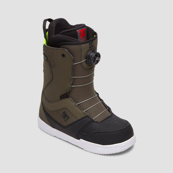 DC Scout BOA Snowboard Boots Green