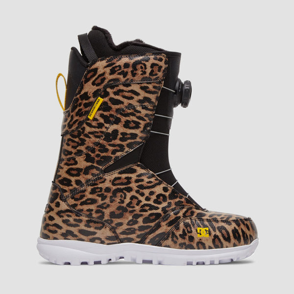 DC Search Snowboard Boots Leopard Print - Womens