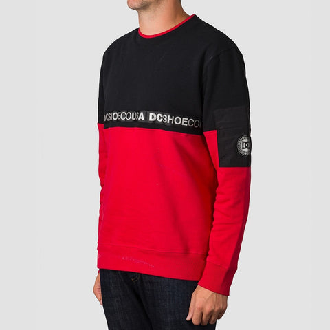 DC Simmons Crew Sweat Black - Clothing