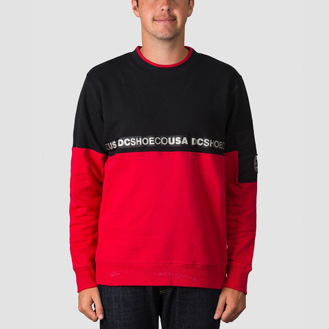 DC Simmons Crew Sweat Black