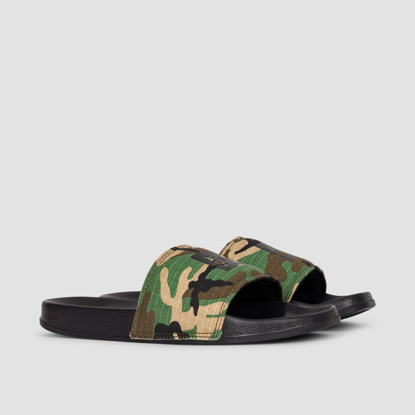 DC Slide Black Camo - Kids