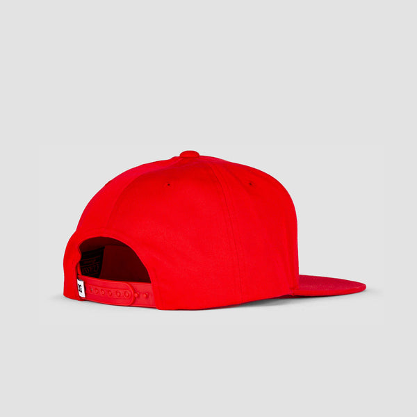 DC Snapdragger Cap Racing Red