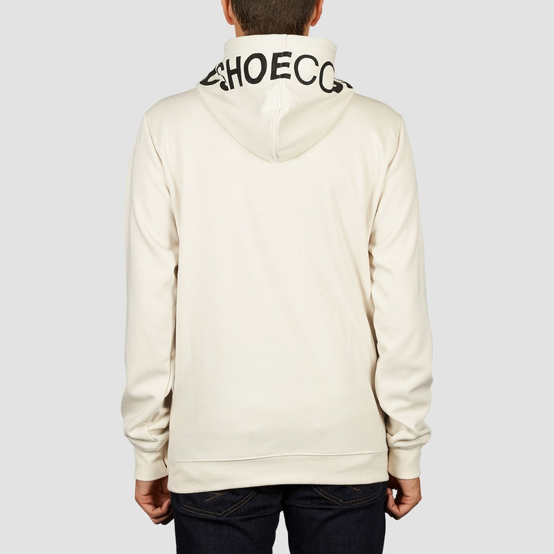 DC Snowstar Pullover Hood Silver Birch - Clothing