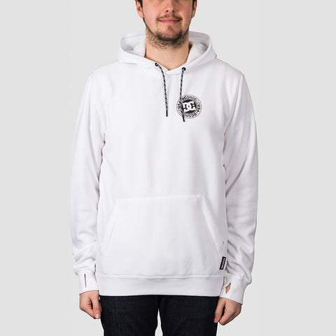 DC Snowstar Pullover Hood White