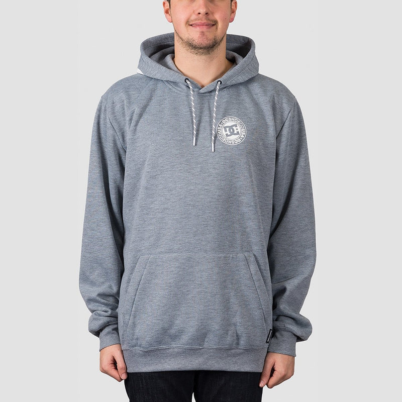 DC Snowstar Water Resistant Pullover Hood Neutral Grey Heather - Snowboard