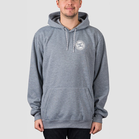 DC Snowstar Water Resistant Pullover Hood Neutral Grey Heather