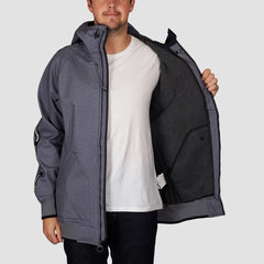 DC Spectrum Snow Jacket Neutral Grey Heather - Snowboard