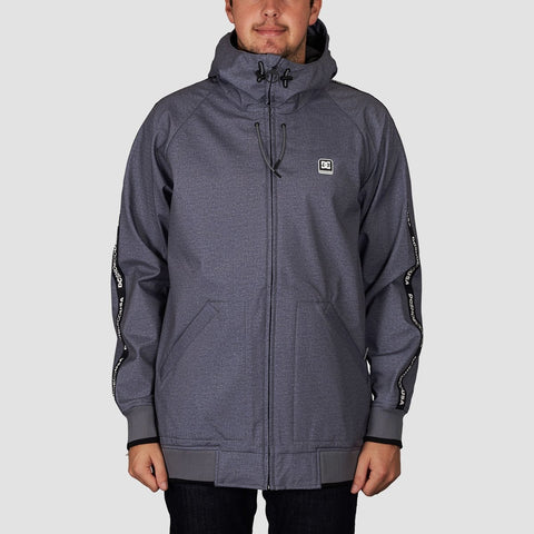 DC Spectrum Snow Jacket Neutral Grey Heather