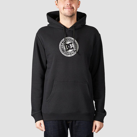 DC Splitted Pullover Hood Black