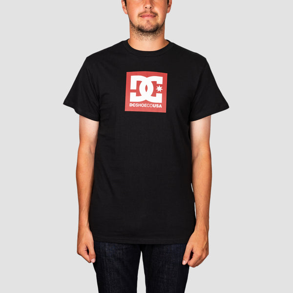 DC Square Star 2 Tee Black