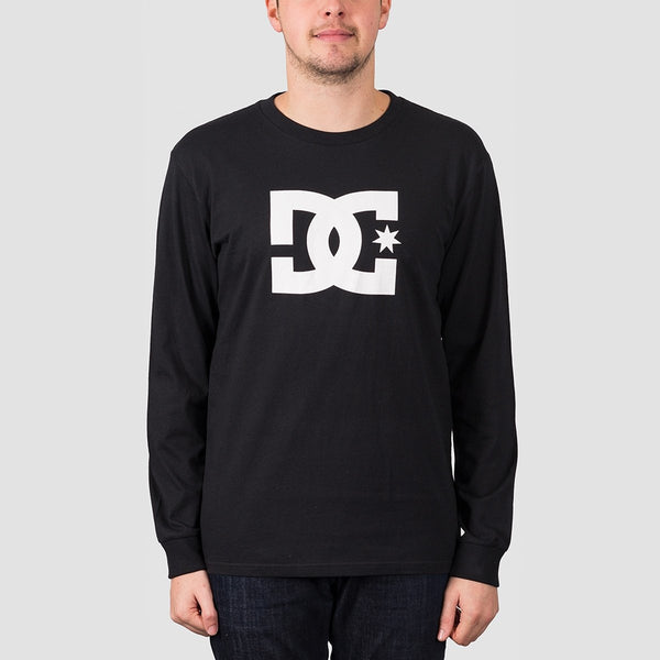 DC Star 2 Long Sleeve Tee Black/White - Clothing