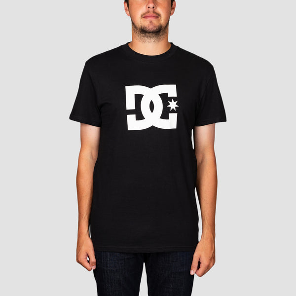 DC Star 3 Tee Black/Snow White