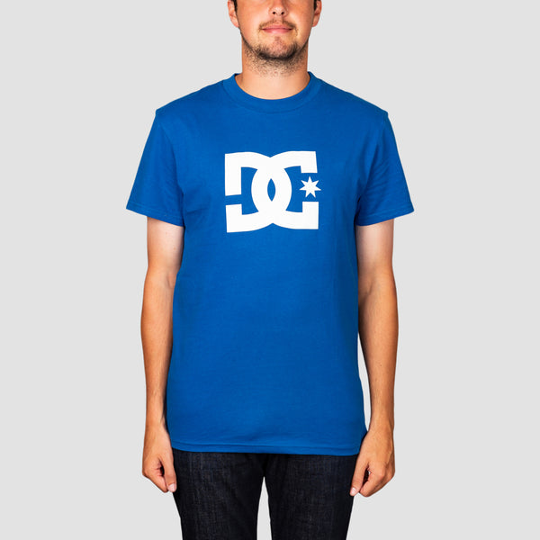 DC Star 3 Tee Nautical Blue/White