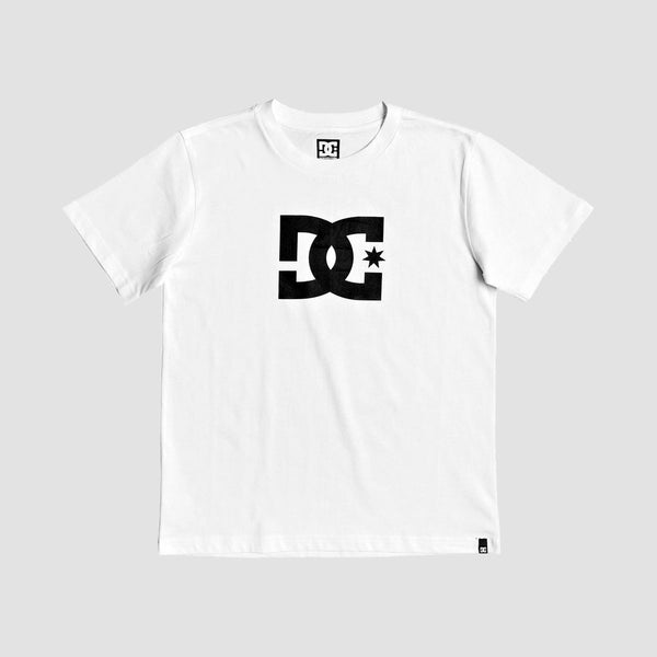 DC Star 3 Tee Snow White/Black - Kids