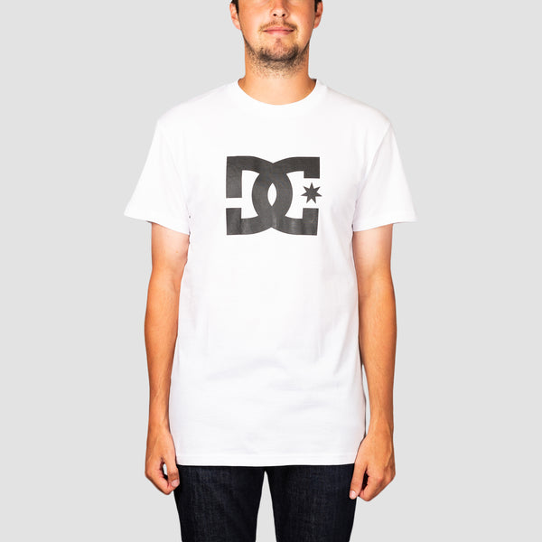 DC Star 3 Tee Snow White/Black