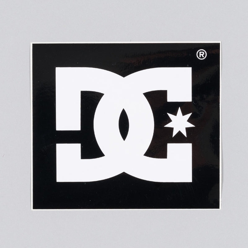 DC Star Logo Sticker 120mm x 115mm - Skateboard