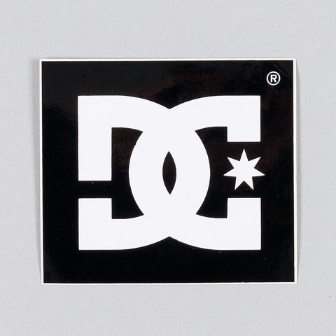 DC Star Logo Sticker 60mm x 55mm