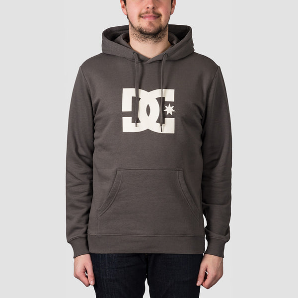 DC Star Pullover Hood Dark Olive/Antique White